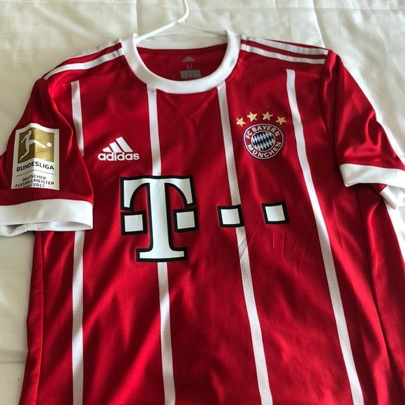 2018 Adidas Bayern Munich James Rodriguez Jersey